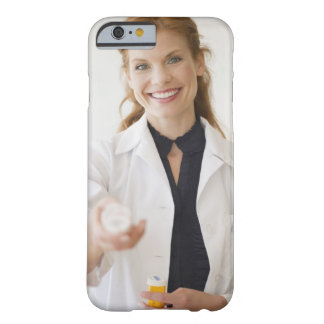 Pharmacist holding bottle of prescription barely there iPhone 6 case