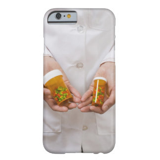 Pharmacist holding pill bottles barely there iPhone 6 case