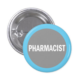Pharmacist hospital identification badge