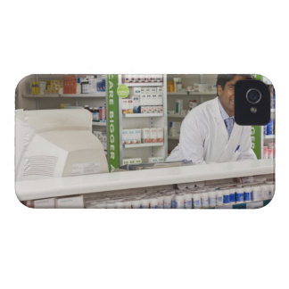 Pharmacist in a pharmacy iPhone 4 Case-Mate case
