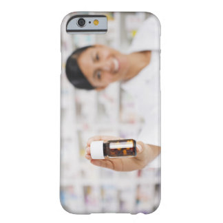 Pharmacist in drug store holding out pill bottle barely there iPhone 6 case