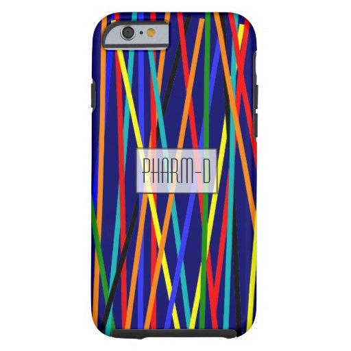 Pharmacist iPhone 6 case Colorful Sticks