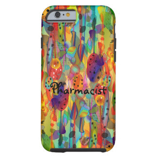 Pharmacist iPhone 6 case Watercolor Art
