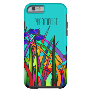 Pharmacist iPhone 6 case Whimsical Flowers