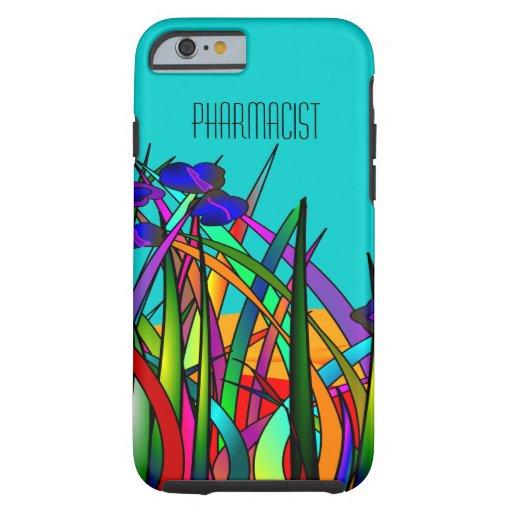 Pharmacist iPhone 6 case Whimsical Flowers