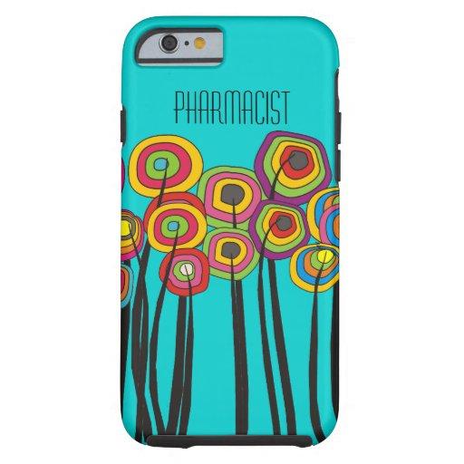 Pharmacist iPhone 6 case Whimsical Trees