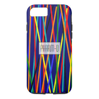 Pharmacist iPhone 7 case Colorful Sticks