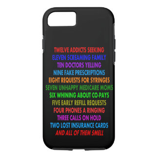 Pharmacist iPhone 7 case Funny Quotes
