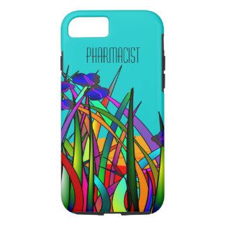 Pharmacist iPhone 7 case Whimsical Flowers