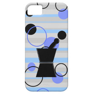 Pharmacist iPhone Cases Retro Style Blue