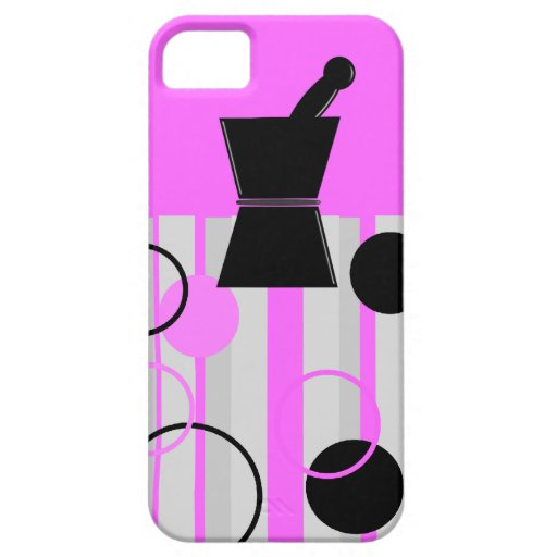 Pharmacist iPhone Cases Retro Style Pink iPhone 5 Covers