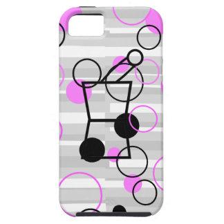 Pharmacist iPhone Cases Retro Style Pink iPhone 5 Case