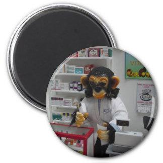pharmacist fridge magnet