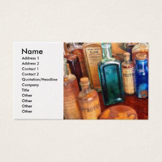 Pharmacist - Medicine Cabinet Business Card