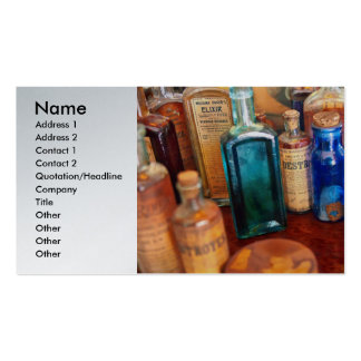 Pharmacist - Medicine Cabinet Pack Of Standard Business Cards