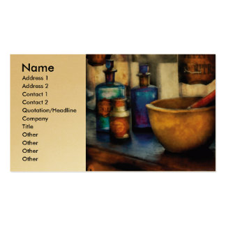 Pharmacist - Mortar and Pestle Pack Of Standard Business Cards