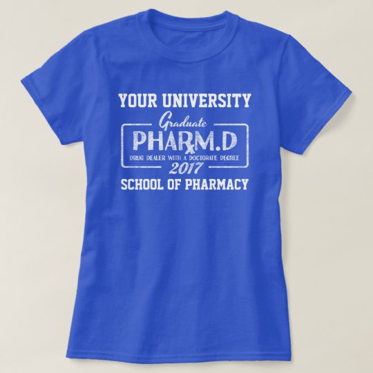 Pharmacist Pharmacy School Graduation Gift T-Shirt