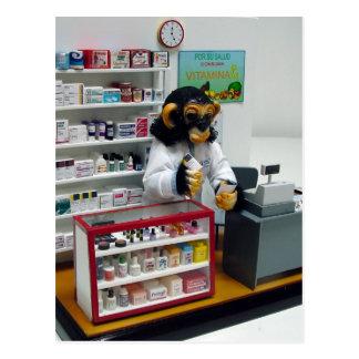 pharmacist postcard