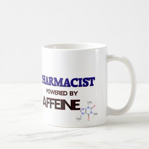 Pharmacist Powered by caffeine Mug