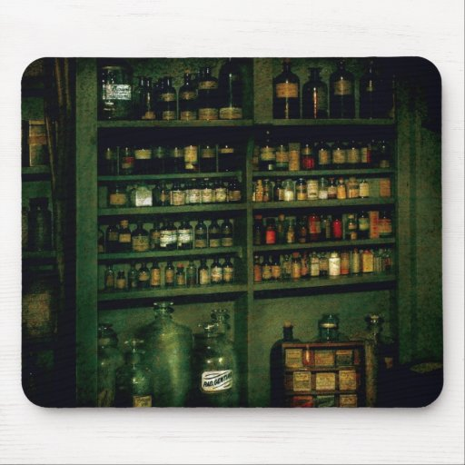 Pharmacist - So many bottles to choose from Mouse Pad