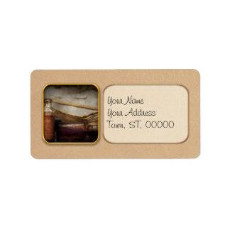 Pharmacist - Specific Medicines Address Label