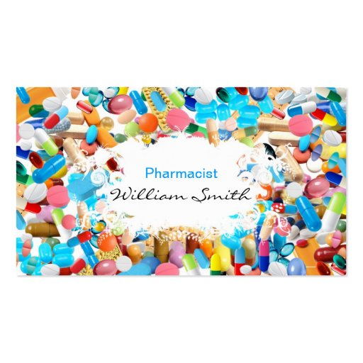 create your own pharmacist business cards