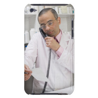 Pharmacist using a  barely there iPod case