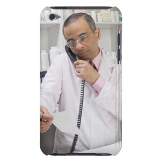 Pharmacist using a phone Case-Mate iPod touch case