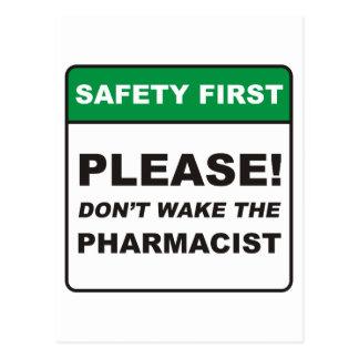 Pharmacist / Wake Post Card