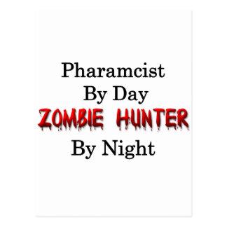 Pharmacist/Zombie Hunter Postcard