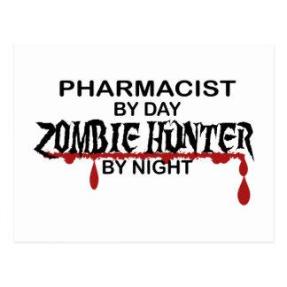 Pharmacist Zombie Hunter Postcard
