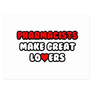 Pharmacists Make Great Lovers Postcard