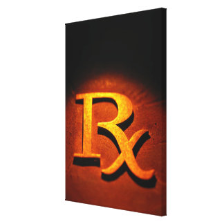 Pharmacology Symbol Canvas Print
