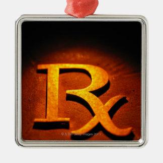 Pharmacology Symbol Christmas Ornament