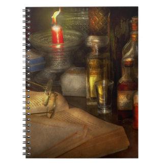 Pharmacy - A long tiring night Notebook