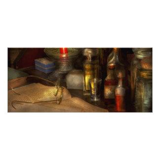 Pharmacy - A long tiring night Rack Card Template