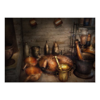 Pharmacy - Alchemist s kitchen Personalized Announcement