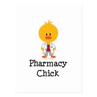 Pharmacy Chick Postcard