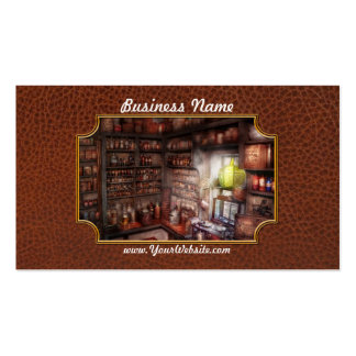 Pharmacy - Equipment - Merlin s Study Business Card Template
