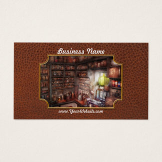 Pharmacy - Equipment - Merlin's Study Business Card
