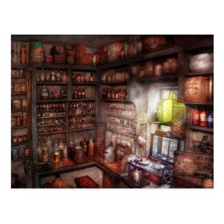 Pharmacy - Equipment - Merlin's Study Postcard