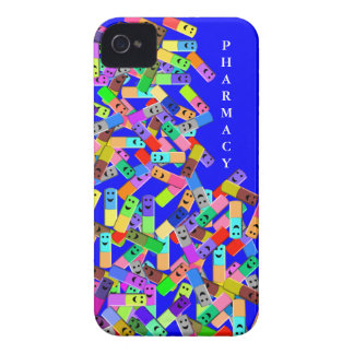 "Pharmacy ""Happy Pills"" Design iPhone 4 Cases"