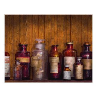 Pharmacy - Liniment, Lozenges, & Antiseptic Flyer Design