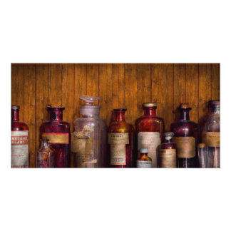 Pharmacy - Liniment, Lozenges, & Antiseptic Photo Cards