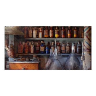 Pharmacy - Master of many trades Personalized Photo Card