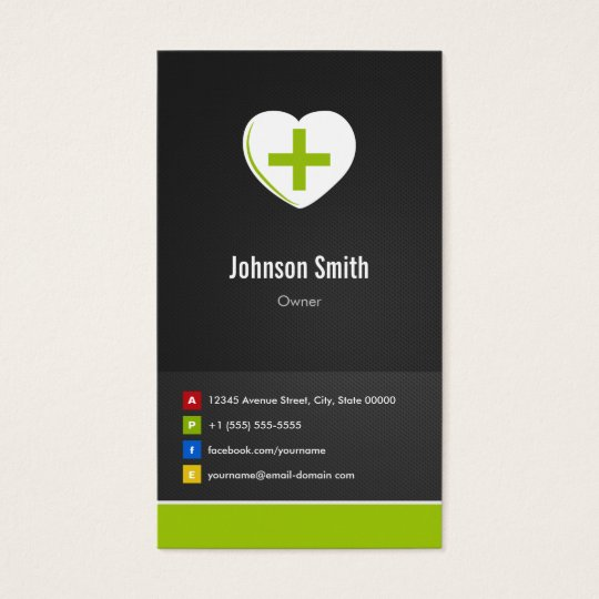 Pharmacy - Medical Care Creative Innovative Business Card
