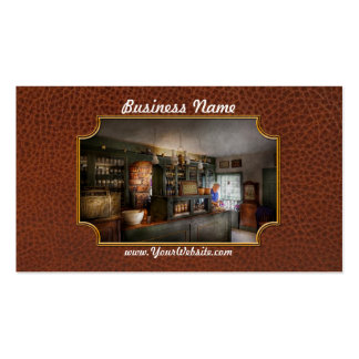 Pharmacy - Morning Preparations Pack Of Standard Business Cards