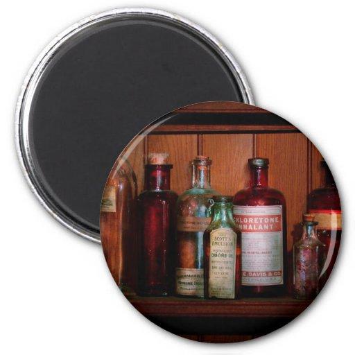 Pharmacy - Oils and Inhalants Refrigerator Magnet