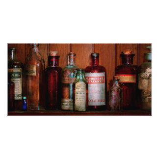 Pharmacy - Oils and Inhalants Personalized Photo Card