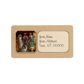 Pharmacy - Pick your poison Address Label